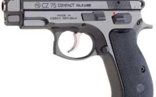 Пистолет CZ-75 (Чехословакия)