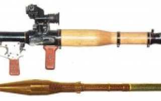 Ручной противотанковый гранатомет 6Г1 РПГ-7 (СССР)
