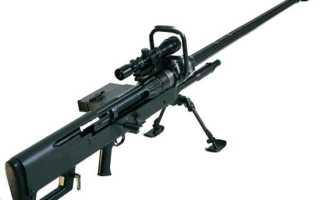 Снайперская винтовка Aerotek NTW-20 (ЮАР)