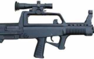 Автоматическая винтовка QBZ-95 / Type 95 (Китай)