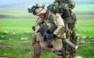 Боевые выкладки военных специалистов армии США
