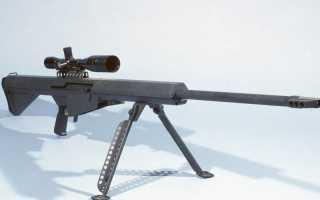 Снайперская винтовка Barrett M82A1 (США)