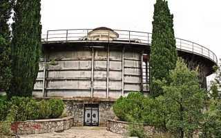 Штормовой бассейн в Кацивели, Крым. Экскурсия по объекту