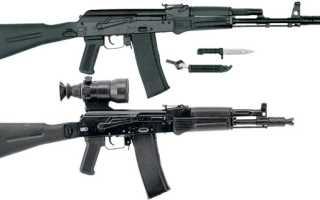 Автомат Калашникова АК-101, АК-102, АК-103, АК-104, АК-105 (Россия)
