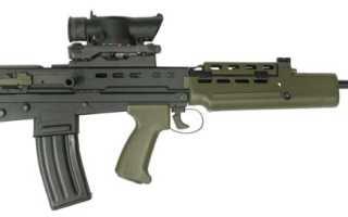 Штурмовая винтовка Enfield SA80 (Великобритания)