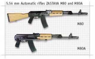 Автомат Zastava M80 (Югославия)