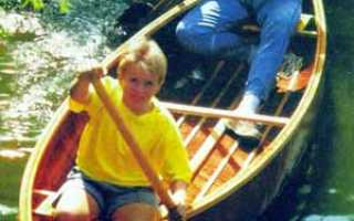 История о постройке лодки-«каноэ» своими руками