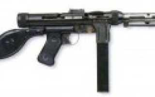 Пистолет-пулемёт Rexim-Favor (Швейцария/Испания)
