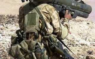 Противотанковый гранатомет LAW-80 (Великобритания)