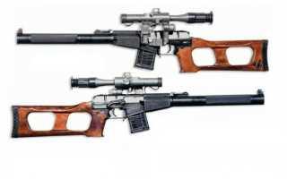 Бесшумная снайперская винтовка ВСС «Винторез»