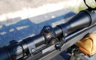 Как закрепить на оружии и настроить оптический прицел