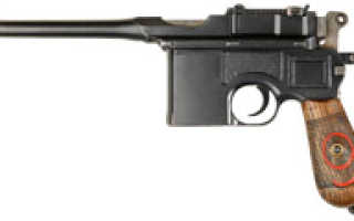 Пистолет Mauser C96 (Германия)