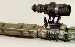 Противотанковый гранатомёт AT-4 (Швеция)
