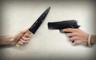 Правило 6 метров: Почему нужно брать на перестрелку нож