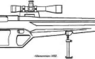 Снайперская винтовка McMillan M92 (США)