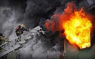 Как спастись при пожаре в помещении?