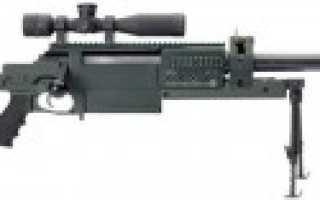 Снайперская винтовка AMSD OM 50 Nemesis (Швейцария)