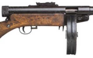 Пистолет-пулемёт Suomi M/1931 (Финляндия)