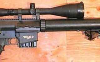 Снайперская винтовка SR-25 (США)