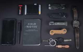 EDC-кошелёк с блокнотом Trayvax Summit Notebook