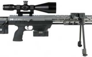 Снайперская винтовка AMP DSR-1 (Германия)