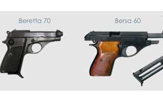 Пистолет Bersa Thunder (Аргентина)