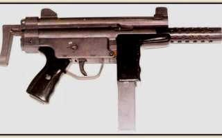 Пистолет-пулемёт Lusa A2 (Португалия)