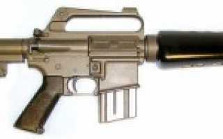 Пистолет-пулемёт M16K (Франция)