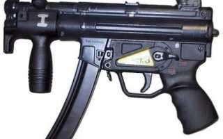 Пистолет-пулемёт HK MP5K PWD (германия)