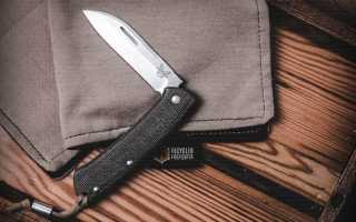 Складной нож Benchmade Proper. Возвращение к классике