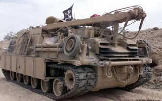 Бронированная ремонтно-эвакуационная машина M88 (США)