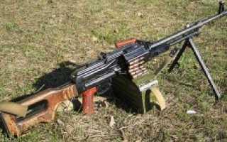 Пулемет Калашникова ПК (СССР)