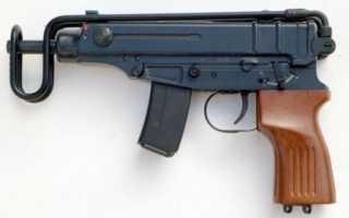 Пистолет-пулемёт Scorpion Vz.61 (Чехословакия)