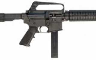 Пистолет-пулемёт Colt SMG / Colt RO635 (США)