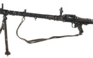 Пулемёт MG-34 (Германия)