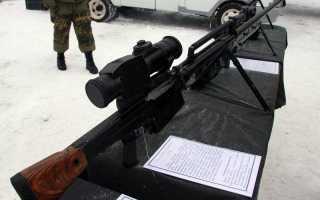 Снайперская винтовка ОСВ-96 (Россия)