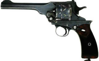 Револьвер Webley-Fosbery Automatic Revolver (Великобритания)