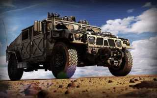 HMMWV «Humvee»: Армейский вездеход Вооруженных Сил США