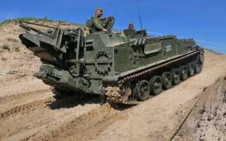 Гусеничный минный заградитель ГМЗ-3 (Россия)