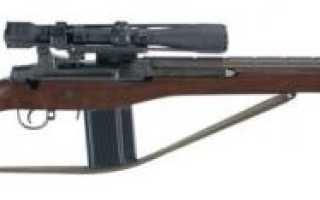 Cнайперская винтовка M21 (США)