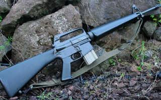 Штурмовая винтовка M16 (США)