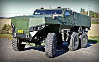 Финский бронеавтомобиль-вездеход Protolab PMPV 6×6 MiSu