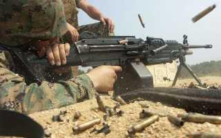 Американский офицер о проблемах пулемёта М249