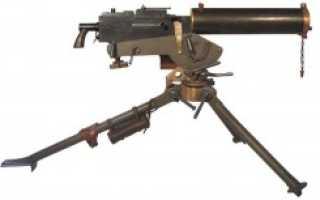 Пулемёт Browning M1917 (США)