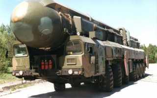 Межконтинентальная баллистическая ракета «Тополь-М»