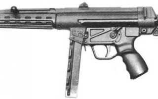 Пистолет-пулемёт HK MP5K (германия)