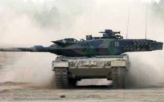 Бронированная машина разминирования Leopard 2R (Германия)