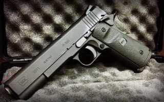 Новый пистолет Glock 1911 — легенда возвращается?