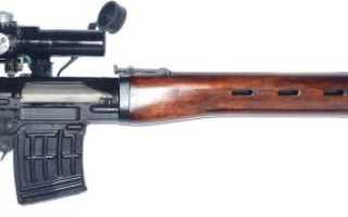 Снайперская винтовка Драгунова СВД (Россия)