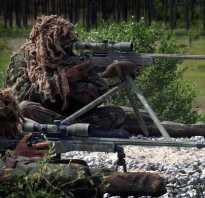 О подготовке снайперов в ВС РФ